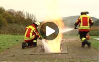 Feuerwehren trainieren Ernstfall